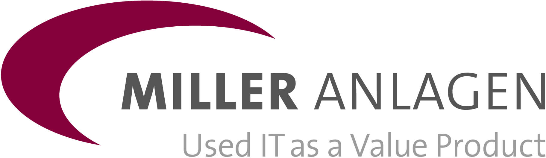 Logo Miller Anlagen - Used IT as a Value Product